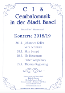 CIS-Saisonprogramm 2018-19_Vorschau