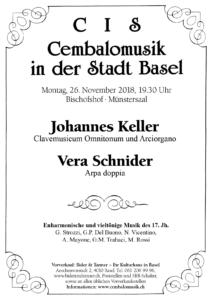 CIS-Programm_Johannes Keller-Vera Schnyder_Vorschau