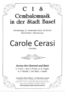 2019-11-21 CIS-Programm_Carole Cerasi_Vorschau